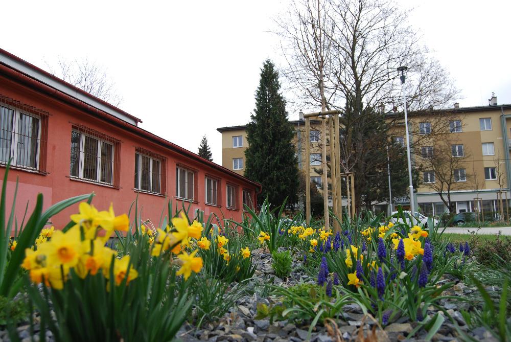 Budova školy SOŠ Vsetín